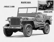 Jeep,Willy´s MB,Ford GPW,Manuals,Reparaturanleitung,Maintenance,Willy's