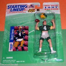 1997 BRETT FAVRE Green Bay Packers - low s/h- Starting Lineup Super Abs! NM/MINT