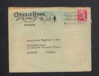 "PARIS (VIII°) USINE de NEUILLY (92) de CHEVILLES RAWL ""S.E.C.R.E.F."" en 1946"