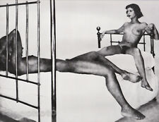 c.1951/81 Vintage FEMALE NUDE & Man? Duotone Photo Art 16x20 GEORGE PLATT LYNES