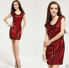 Polyester Evening, Occasion Stretch, Bodycon Unbranded Dresses for Women