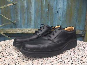 CLARKS - Black Leather - Lace Up - Shoes  - UK 11