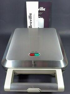Breville BPI640XL Nonstick Stainless Steel Personal Pie Maker 4 Molds
