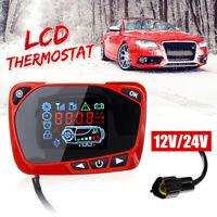 12~24V LCD Vorwahluhr Thermostat Schalter für Diesel Standheizung  P