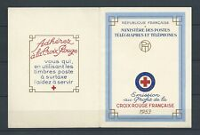CROIX ROUGE - 1953 YT 2002 - CARNET NEUF** MNH LUXE