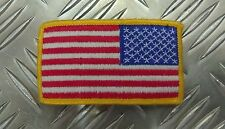 "Genuine Vintage US Military USA Flag Insignia Arm Patch ""Old Glory"" - Used"