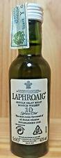 Laphroaig 10 years old mignon Single Islay malt scotch whisky old version