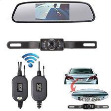"Auto Rückfahrsystem Set 4.3"" Zoll TFT LCD Rückspiegel Monitor mit Rückfahrkamera"