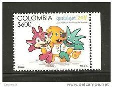 rO) 2011 COLOMBIA, XVI PAN AMERICAN GAMES- GUADALAJARA 2011, FOR 1.,MNH.