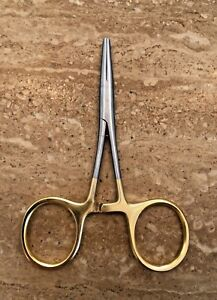 """Fly Fishing Loop Forceps Delta Slick Straight Clamp Surgical Ceps S/Steel 5"""""""