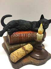 The Witching Hour By Lisa Parker Cat Statue Sculpture Figurine 100% Authentic