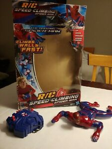 Spiderman RC Remote Control Wall Speed Climbing Spider-Man - PARTS OR REPAIR