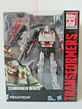 Transformers Leader Class Combiner Wars Megatron Tank Action Figure NIB