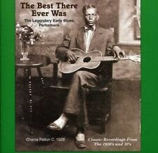 The Best There Ever Was The Legendary Early Blues Performers [CD]