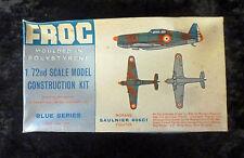 Frog Morane Saulnier Kit Modellino Aereo Scala 1/72