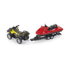 Siku 2314 Quad con remolque y moto Acuática