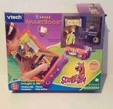 VTECH V-SMILE SMARTBOOK w/ SCOOBY - DOO! -  GAME SMARTRIDGE AND BOOK INCLUDED
