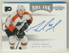 2011-12 Panini Contenders NHL Ink AUTO 49 Matt Read Philadelphia Flyers