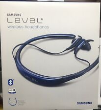 New Samsung Level U Bluetooth Wireless In-ear Headphone Microphone Blue Sapphir