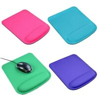 Soft Silicone Mouse Pad With Wrist Rest Support Mat for Gaming PC Laptop New