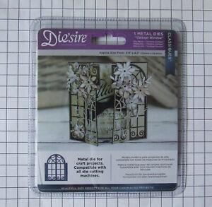 Diesire by Crafters Companion Metal Die - Cottage Window New