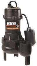NEW WAYNE RPP50 CAST IRON 1/2HP SEWAGE WATER PUMP & FLOAT SWITCH 4089678