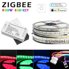 ZigBee RGB+CCT RGBW Controller+5050 LED Strip+Power Supply For Echo Plus Google
