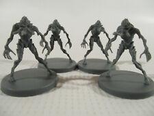 DEEP MADNESS Lot of 4 RAVENOUS Cthulhu Mythos Horror Sci Fi Miniature Figures!!