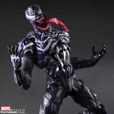 "PLAY ARTS KAI MARVEL UNIVERSE VENOM ACTION FIGURE 10"" PVC STATUE NEW IN BOX"