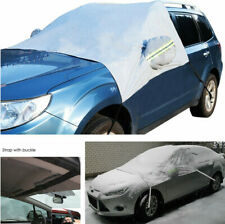 Car Windshield Side Mirror Snow Cover Sunshade Ice Dust Frost Protector Winter