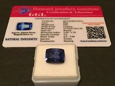 9.87 cts.NATURAL TANZANITE GEMSTONE ESTATE COLLECTION            LOT 735