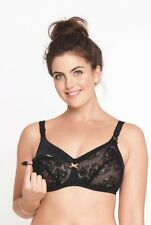Anita Maternity 42B Padded Wire Free Nursing Bra 5047 Black