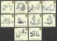 Winnie the Pooh-Great Britain- mnh - complete -set of 10 issued 2010