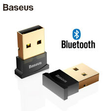 Baseus USB Bluetooth 4.0 Wireless Dongle Adapter for Computers. 10m Range