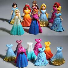 Disney Girls Toys Cute Princess Snow Queen Elsa Anna Action Figures 8Pcs