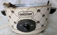 Vintage RIVAL Crock Pot Slow Cooker 5 Qt 3350/2 Base Only NO Insert or Lid
