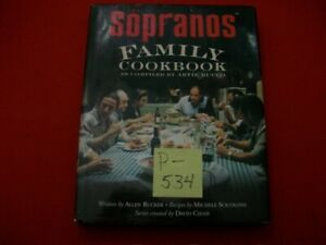 THE SOPRANOS FAMILY COOKBOOK-BY ARTIE BUCCO-A GREAT BOOK WITH EXCELLENT RECIPES!