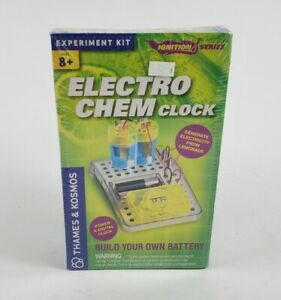 Thames & Kosmos Science Experiments Electro Chem Clock Electricity Build Battery
