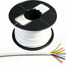 100m Reel 8 Core 4 Pair Alarm Cable - Tinned Copper Stranded CCTV Panel Contact