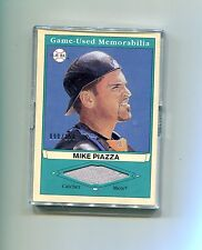 MIKE PIAZZA NEW YORK METS 2003 UPPERDECK PLAY BALL JERSEY BASEBALL CARD #090/150