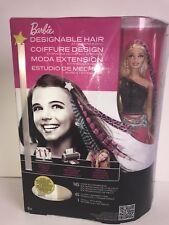 Barbie Designable de pelo de muñeca con Imprimible extensiones de cabello-totalmente Nuevo