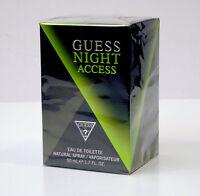 GUESS NIGHT ACCESS PROFUMO UOMO EAU DE TOILETTE EDT 50 ML