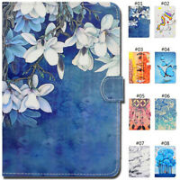 For iPad Mini 1 2 3 4 Air 5 6 Case Smart Card Slot Wake/Sleep PU Leather Cover