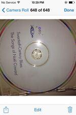 Various Artists : 20th Century Blues: Noel Coward Songs CD (1999)