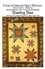 Calico Carriage Quilt Design Patterns - Shooting Stars   FREE US SHIPPING