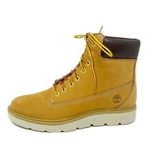 Timberland Women's Kenniston 6 Inch Sneaker Ankle Boots US 10 Wheat Nubuck
