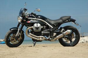 MOTO GUZZI GRISO 1100 / 1200 8V QD Exhaust system twin titanium Tr-Cono muffler