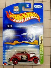 Hot Wheels '33 Ford Red 2003 Collector #78