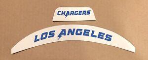 LA Chargers Flex 3D  Bumper Front And Rear Riddell Helmet