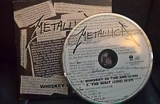 METALLICA Whiskey InThe Jar RARE SINGLE DIGIPACK VERY RARE DIFFERENT SONGS